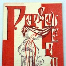 Libros de segunda mano: PERSEVERA REVISTA APUNTES EJERCICIOS ESPIRITUALES COMPAÑÍA JESÚS IMP CRUZ 1952. Lote 222738315