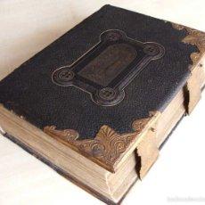 Libros de segunda mano: BIBLIA ANTIGUO NACIONAL INTERGRAL (EXHAUSTIVO) DE LA FAMILIA. SIGLO 1800. Lote 59439900