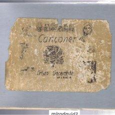 Libros de segunda mano - LIBRO DE 716 CANCIONES DE CRISTO SACERDOTE VALENCIA HOJAS COSIDAS A MANO MD187 - 59570799