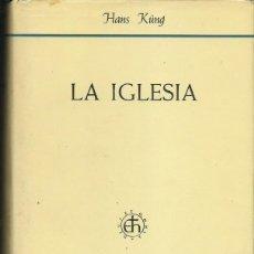 Libros de segunda mano: HANS KÜNG : LA IGLESIA. (ED. HERDER, 1968) . Lote 61571252