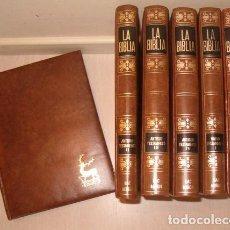 Libros de segunda mano: LA BIBLIA. TOMOS I, II, III Y IV: ANTIGUO TESTAMENTO. TOMOS I Y II: NUEVO TESTAMENTO. RMT77047. . Lote 62991716