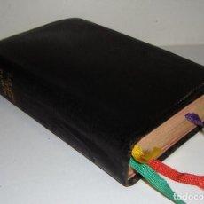 Libros de segunda mano: MISAL COMPLETO PARA LOS FIELES. VICENTE MOLINA. 1962. ENCUADERNADO EN PIEL Y BORDES DORADOS.. Lote 63803371