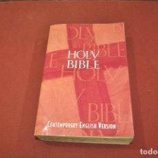 Libros de segunda mano: THE HOLY BIBLE , CONTEMPORANY ENGLISH VERSION. Lote 64075539