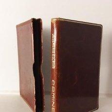Livres d'occasion: ESCRIVÁ : CAMINO ( ENCUADERNADO EN PLENA PIEL MARRÓN. CORTES DORADOS. ESTUCHE. Lote 64156275
