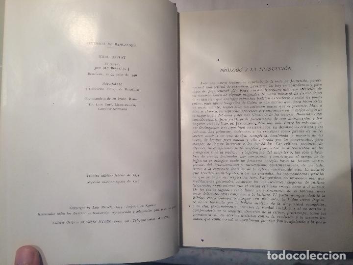 Libros de segunda mano: Antiguo libro vida de Jesucristo, años 60 - Foto 2 - 64841151