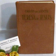 Libros de segunda mano: AÑO DE 1964 .- OBRAS DE SANTA TERESA DE JESÚS. APOSTOLADO DE LA PRENSA, MADRID.. Lote 65430151