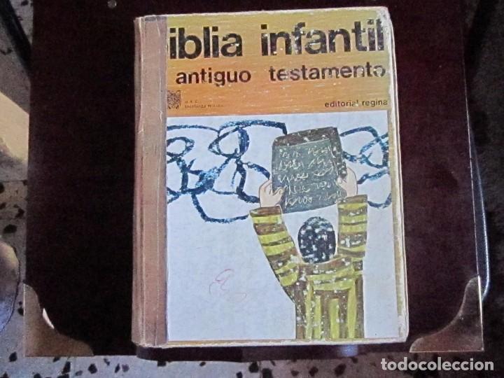 BIBLIA INFANTIL ANTIGUO TESTAMENTO (Libros de Segunda Mano - Religión)