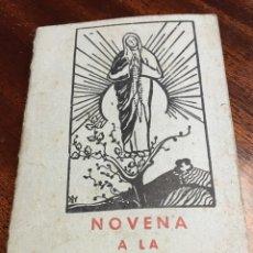 Libros de segunda mano: NOVENA A LA VIRGEN DE FÁTIMA. Lote 67300218