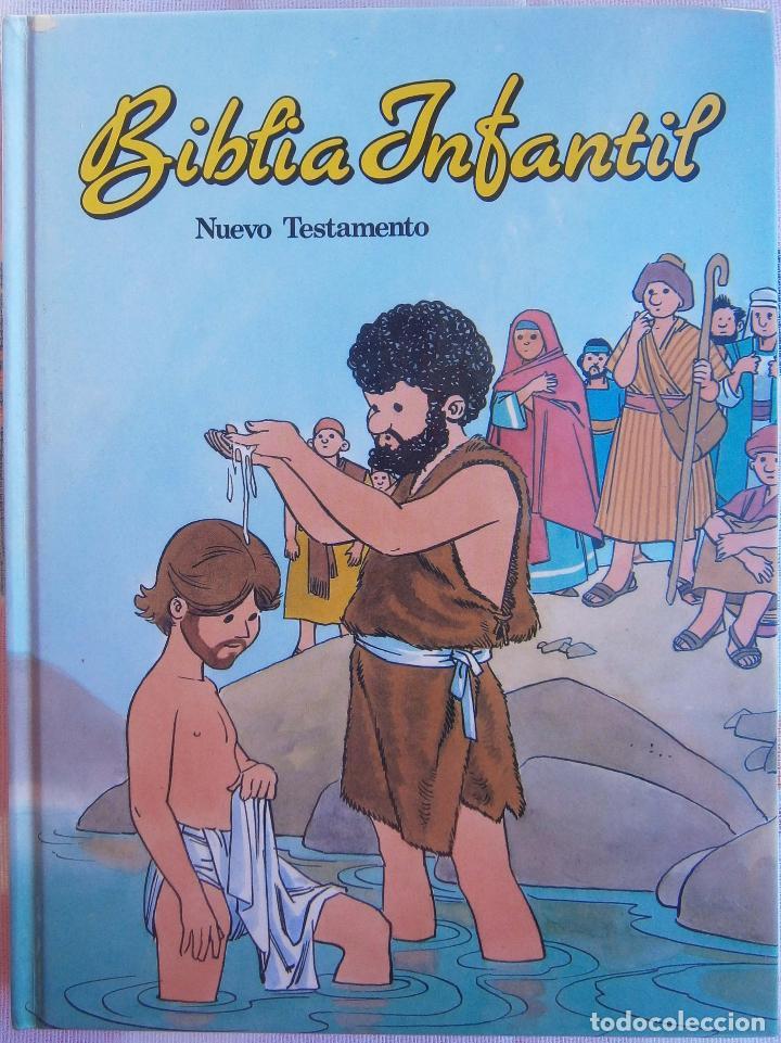 BÍBLIA INFANTIL - NUEVO TESTAMENTO (Libros de Segunda Mano - Religión)