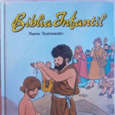 Libros de segunda mano: BÍBLIA INFANTIL - NUEVO TESTAMENTO. Lote 67414053