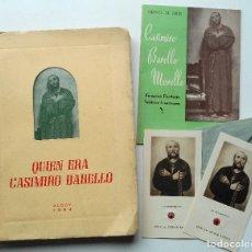 Libros de segunda mano: LIBRO QUIEN ERA CASIMIRO BARELLO Y OTROS DOCUMENTOS – ALCOY AÑO 1964. Lote 68194061