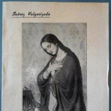 Libros de segunda mano: LLENA DE GRACIA, SUÁREZ VULGARIZADO – P. ROMUALDO GALDÓS, S.J. – BILBAO 1945. Lote 68630337