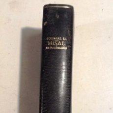 Libros de segunda mano: MISAL DEVOCIONARIO. 1956 CARLOS G. GOLDARAZ. ILUSTRACINES J. GRAU. Lote 69063053