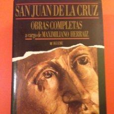 Libros de segunda mano: LIBRO, OBRAS COMPLETAS, SAN JUAN DE LA CRUZ. Lote 69660959