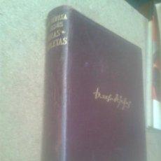 Libros de segunda mano: LIBROS AUTORES OBRAS COMPLETAS - SANTA TERESA DE JESUS OBRAS COMPETAS AGUILAR 1957. Lote 70006413