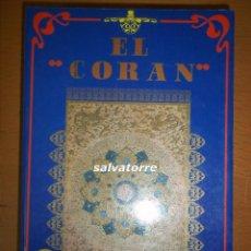 Libros de segunda mano: EL CORAN. VISION LIBROS. 1979.EN ESPAÑOL.VISION LIBROS.,CON TRADUCCION DE PALABRAS DEL ARABE.. Lote 70043957