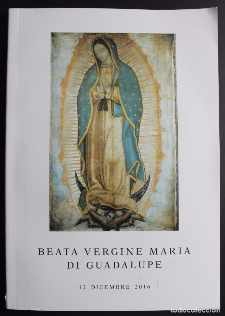BEATA VERGINE MARÍA DI GUADALUPE (Libros de Segunda Mano - Religión)