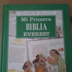 Libros de segunda mano: MI PRIMERA BIBLIA. EVEREST. Lote 70287269