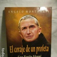 Libros de segunda mano: EL CORAJE DE UN PROFETA. SAN BENITO MENNI - EN BUENA CONSERVACION. Lote 71041705
