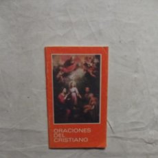 Libros de segunda mano: ORACIONES DEL CRISTIANO . Lote 71404115