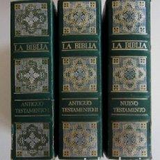 Libros de segunda mano: BIBLIA DE JERUSALEN - ILUSTRADA POR DORE - 3 TOMOS. Lote 72122415
