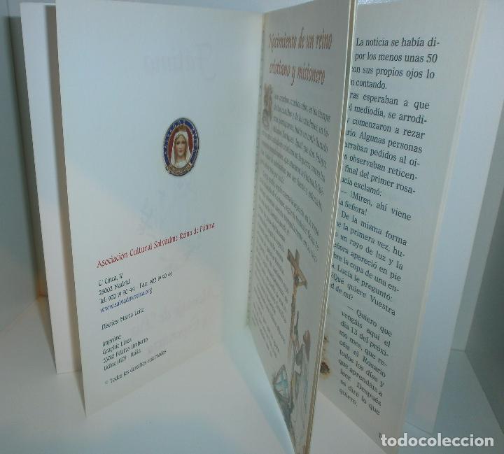 Libros de segunda mano: R23 Fátima, Mensaje de Paz y Esperanza - Asociación Cultural Salvadme Reina de Fátima - Foto 2 - 126474178