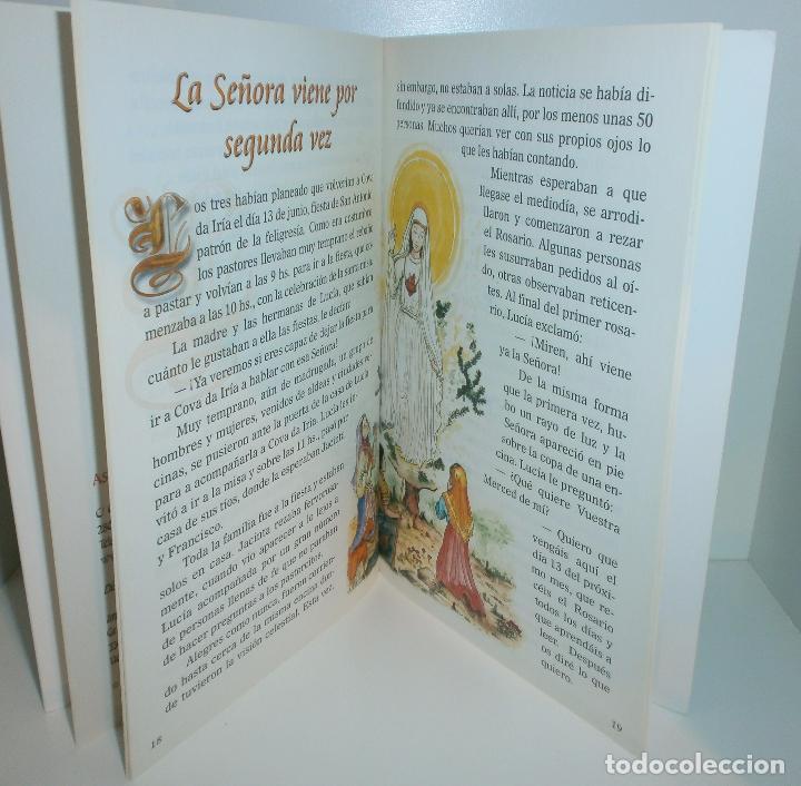 Libros de segunda mano: R23 Fátima, Mensaje de Paz y Esperanza - Asociación Cultural Salvadme Reina de Fátima - Foto 3 - 126474178