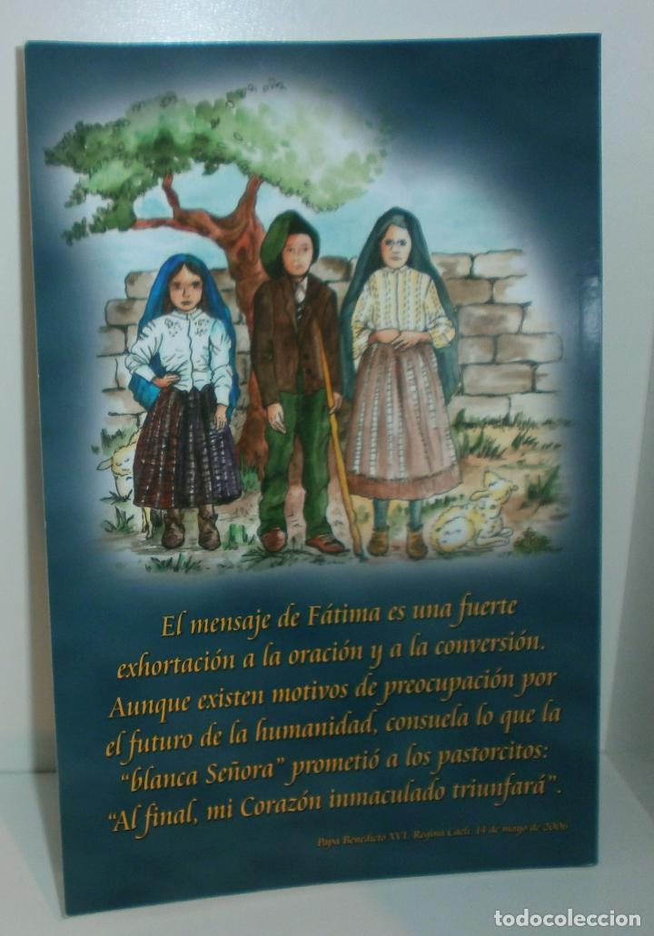 Libros de segunda mano: R23 Fátima, Mensaje de Paz y Esperanza - Asociación Cultural Salvadme Reina de Fátima - Foto 4 - 126474178