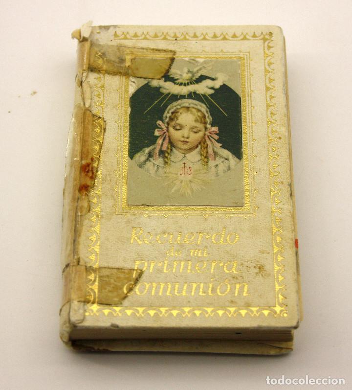 8acbfba3227 LIBRO RECUERDO DE MI PRIMERA COMUNIÓN - EDITORIAL REGINA - 1960 (Libros de  Segunda Mano