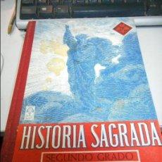 Libros de segunda mano: HISTORIA SAGRADA SEGUNDO GRADO. Lote 73824483