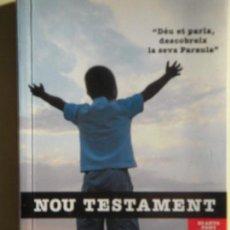 Libros de segunda mano: NOU TESTAMENT - EDITORIAL CLARET, 2008 - (EXEMPLAR COM NOU). Lote 74250167