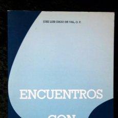 Libros de segunda mano: ENCUENTROS CON FRAY MARTIN - JOSE LUIS GAGO DE VAL - GRÁFICAS ANDRÉS MARTÍN - VALLADOLID. Lote 74394611