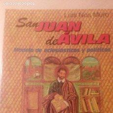 Libros de segunda mano: SAN JUAN DE AVILA, LUIS DE NOS, SAN PABLO. Lote 74498995