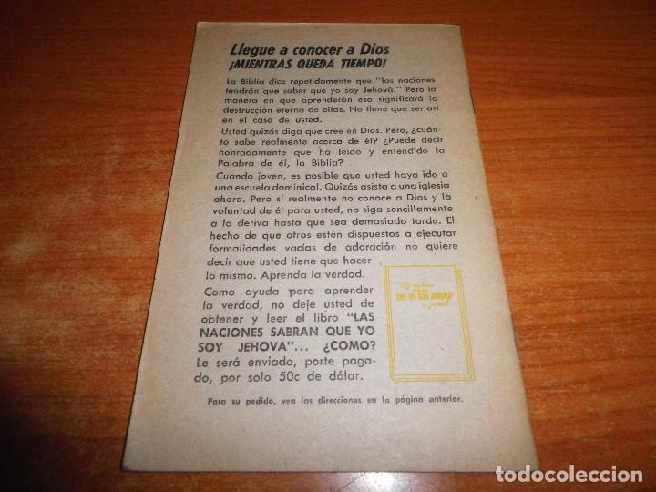 Libros de segunda mano: VICTORIA DIVINA ...SU SIGNIFICADO PARA LA HUMANIDAD ANGUSTIADA FOLLETO TESTIGOS DE JEHOVA WATCHTOWER - Foto 3 - 89765536