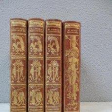 Libros de segunda mano: ANTIGUO Y NUEVO TESTAMENTO (4 VOL ) - ILUSTRADO POR G. DORE - ED FACSIMIL DE 1873. Lote 75273619