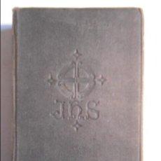 Libros de segunda mano: MISAL DIARIO ROMANO SEGUIDO DE UN DEVOCIONARIO ESCOGIDO. POR EL P. LUIS RIBERA. EDITORIAL REGINA 196. Lote 75568395