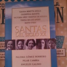 Libros de segunda mano: SANTAS DEL SIGLO XX (BARCELONA, 1997). Lote 75722499