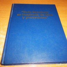 Libros de segunda mano: TODA ESCRITURA ES INSPIRADA DE DIOS Y PROVECHOSA TESTIGOS DE JEHOVA 1990 WATCHTOWER USA WATCH TOWER. Lote 216954346
