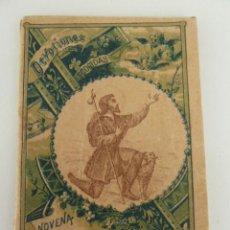 Libros de segunda mano: NOVENA AL GLORIOSO SAN ROQUE CONFESOR ABOGADO CONTRA LA PESTE IMPRENTA S.CALLEJA AÑO 1898. Lote 76092399