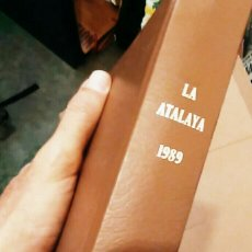 Libros de segunda mano: LA ATALAYA 1989 TESTIGOS DE JEHOVÁ -THE WATCHTOWER / REINO DE JEHOVÁ - TOMO COMPLETO. Lote 76410193