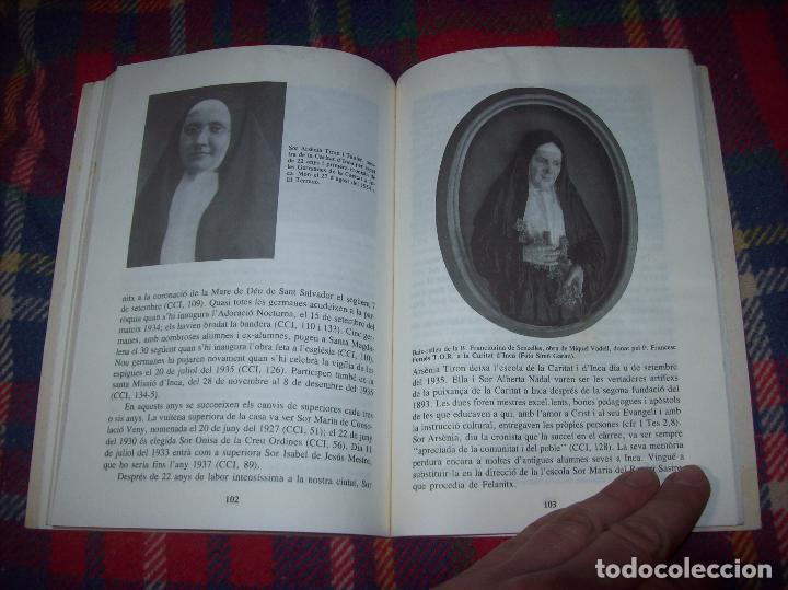 LES GERMANES DE LA CARITAT A INCA . PERE JOAN LLABRÉS . 1993 . EXCEL·LENT EXEMPLAR. MALLORCA (Libros de Segunda Mano - Religión)