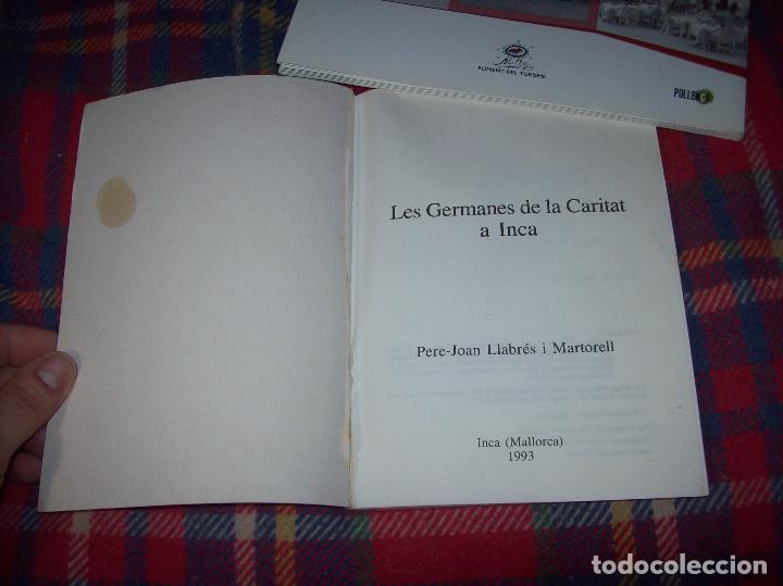 Libros de segunda mano: LES GERMANES DE LA CARITAT A INCA . PERE JOAN LLABRÉS . 1993 . EXCEL·LENT EXEMPLAR. MALLORCA - Foto 3 - 76922787