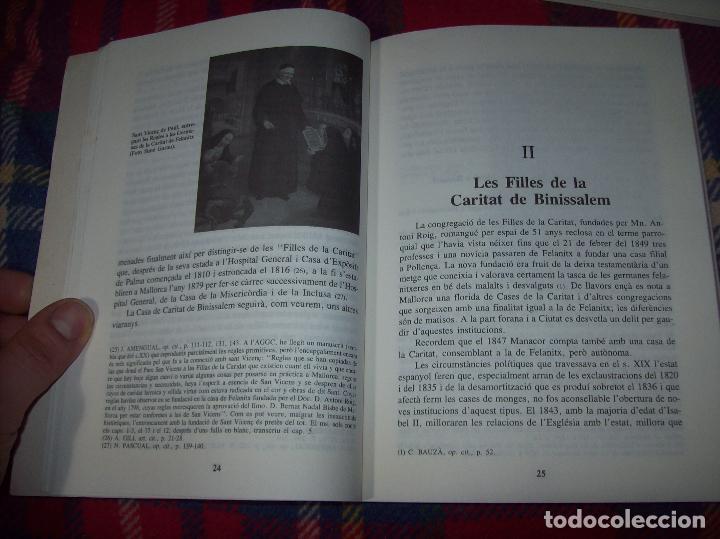 Libros de segunda mano: LES GERMANES DE LA CARITAT A INCA . PERE JOAN LLABRÉS . 1993 . EXCEL·LENT EXEMPLAR. MALLORCA - Foto 10 - 76922787