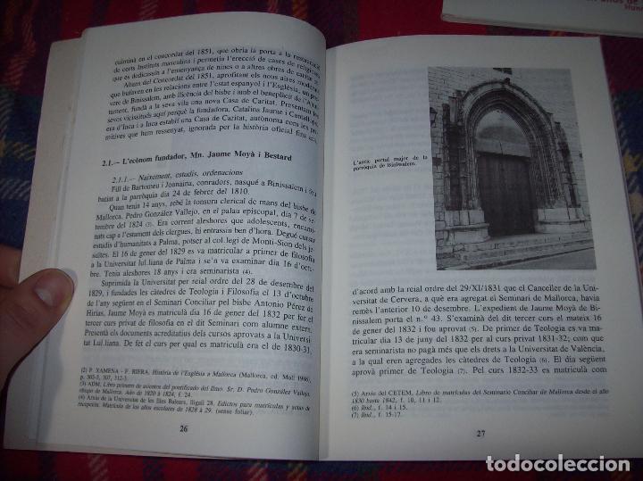 Libros de segunda mano: LES GERMANES DE LA CARITAT A INCA . PERE JOAN LLABRÉS . 1993 . EXCEL·LENT EXEMPLAR. MALLORCA - Foto 11 - 76922787