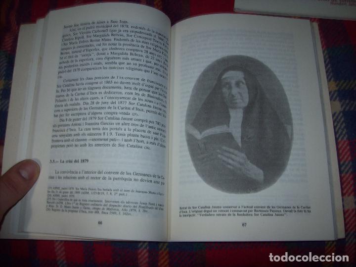 Libros de segunda mano: LES GERMANES DE LA CARITAT A INCA . PERE JOAN LLABRÉS . 1993 . EXCEL·LENT EXEMPLAR. MALLORCA - Foto 14 - 76922787