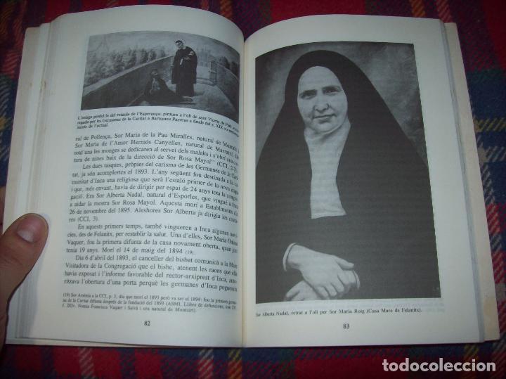Libros de segunda mano: LES GERMANES DE LA CARITAT A INCA . PERE JOAN LLABRÉS . 1993 . EXCEL·LENT EXEMPLAR. MALLORCA - Foto 15 - 76922787