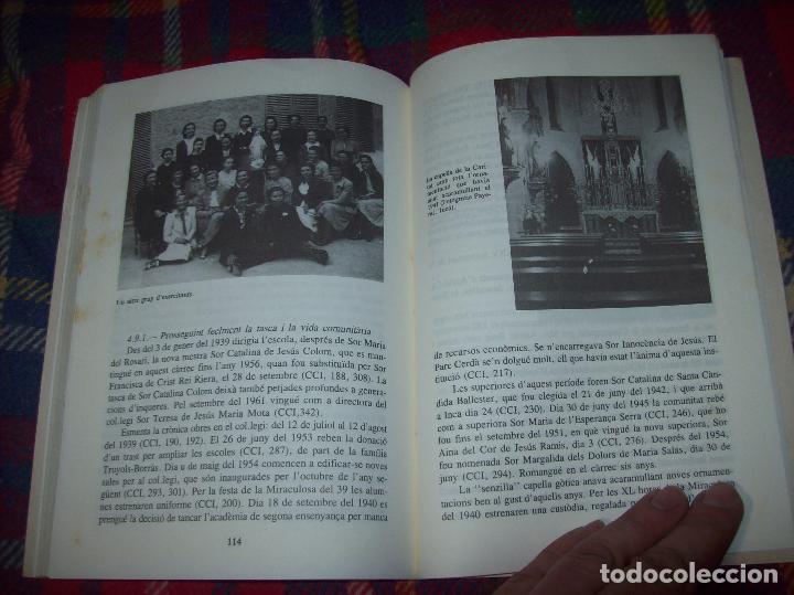 Libros de segunda mano: LES GERMANES DE LA CARITAT A INCA . PERE JOAN LLABRÉS . 1993 . EXCEL·LENT EXEMPLAR. MALLORCA - Foto 19 - 76922787
