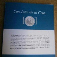 Libros de segunda mano: LIBROS HISTORIA RELIGION - SAN JUAN DE LA CRUZ REVSTA DE INVESTIGACION N 49 2015. Lote 76984113