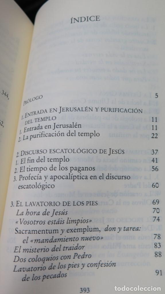 Libros de segunda mano: JESUS DE NAZARET. JOSEPH RATZINGER. BENEDICTO XVI - Foto 2 - 261625585