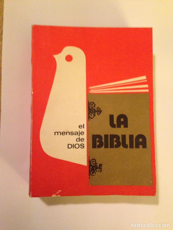 Libro La Biblia El Mensaje De Dios 1976 Año Comprar Libros De